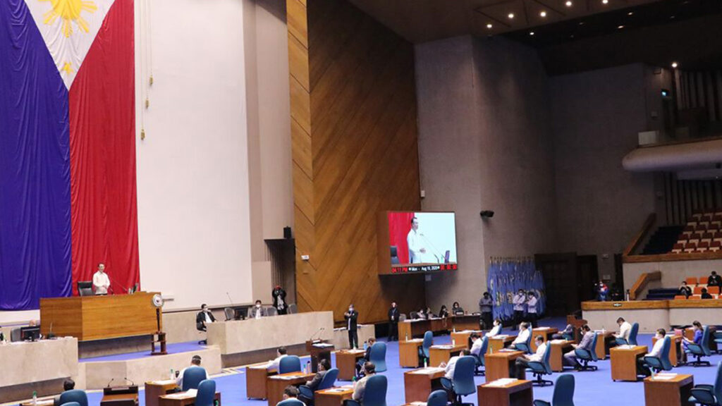 House of Representatives. | Photo from House of Representatives of the Philippines fb page.