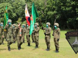 BACOLOD CITY, Negros Occidental, Philippines - The 302nd Infantry Achiever Brigade installed on Tuesday, 20 October its new commander in a change of command ceremony held at the Headquarters, 302nd Brigade, Camp Leon Kilat, Tanjay City, Negros Oriental.