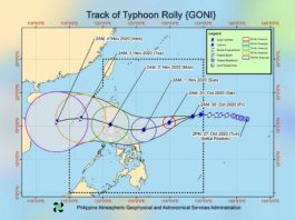 BACOLOD CITY, Negros Occidental, Philippines - State weather bureau PAGASA has confirmed that a tropical cyclone is now in Philippine territory and is expected to strengthen into a Category 3 or 4 storm as it moves across the archipelago.