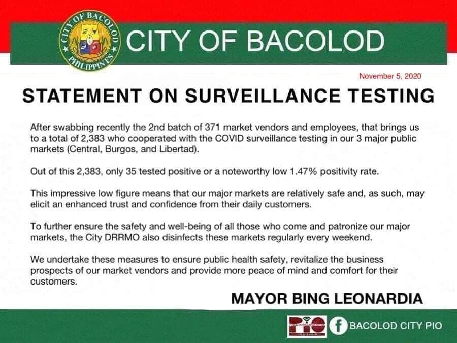 Image from Bacolod City PIO FB page.