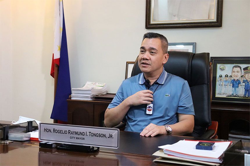 Mayor Rogelio Raymund I. Tongson, Jr. | Photo by Banjo C. Hinolan
