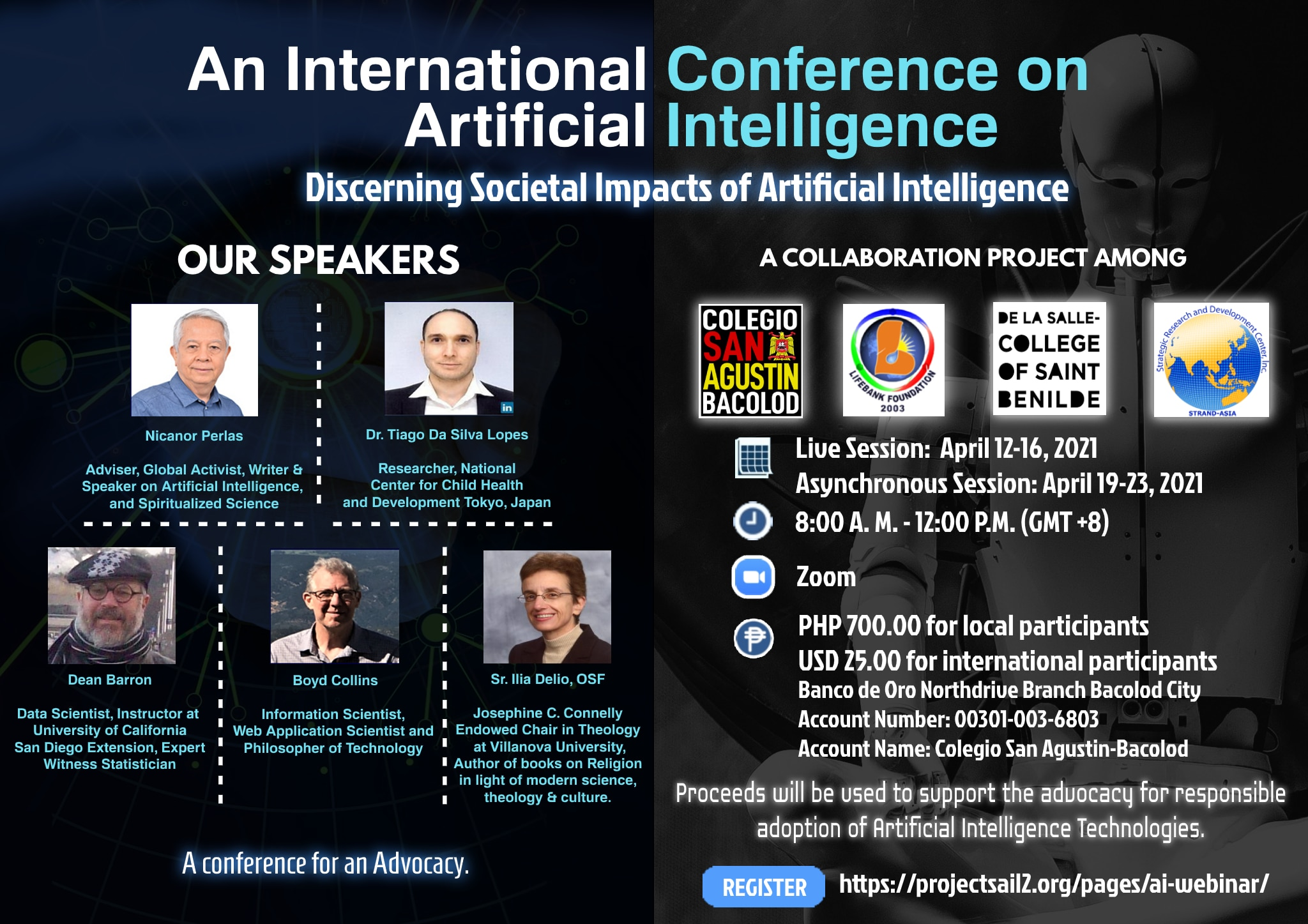 Event poster for the International Conference on Artificial Intelligence. | Photo by Paolo Hilado.