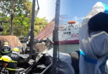 BACOLOD CITY, Negros Occidental, Philippines - A critical mission frontliner is among the homeless after a Friday fire in a crowded residential area gutted at least 10 houses in the sub-village of Malipayon in downtown Village 12 here.